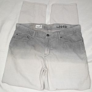 The Gap 1969 Ombre Corduroy Sexy Boyfriend Pant